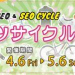春のスポーツサイクルフェア!部品用品10%割引キャンペーン